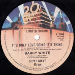 Barry White – It's Only Love Doing Its Thing