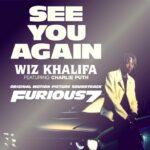 Wiz Khalifa (ft. Charlie Puth) – See You Again